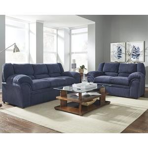 Sofa - Shown in 116-65 Indigo Chenille Finish
