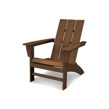 Teak Modern Adirondack Chair