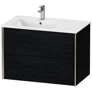 Duravit - Vanity Unit Wall-mounted, Black Oak