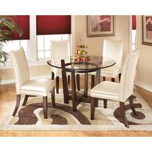 View Product - Charrell White 5 Piece Dining Room Set