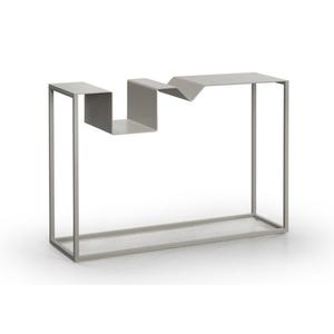 Zigzag console table