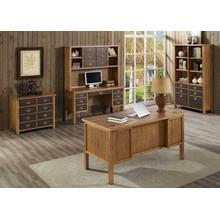 See Details - Half Pedestal Desk