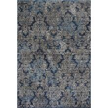 "Provence 8611 Slate Blue Damask 7'10""x 11'2"""
