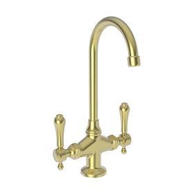 Satin Brass - PVD Prep/Bar Faucet
