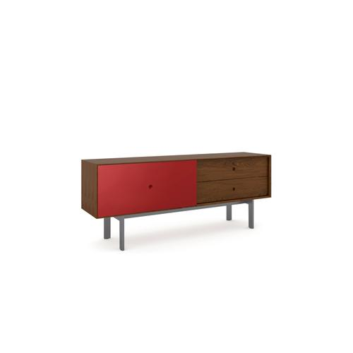 BDI Furniture - Margo 5229 Cabinet in Toasted Walnut Cayenne