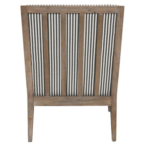 Classic Home - York Accent Chair Striped