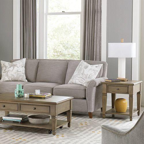 Proximity Rectangular Drawer End Table