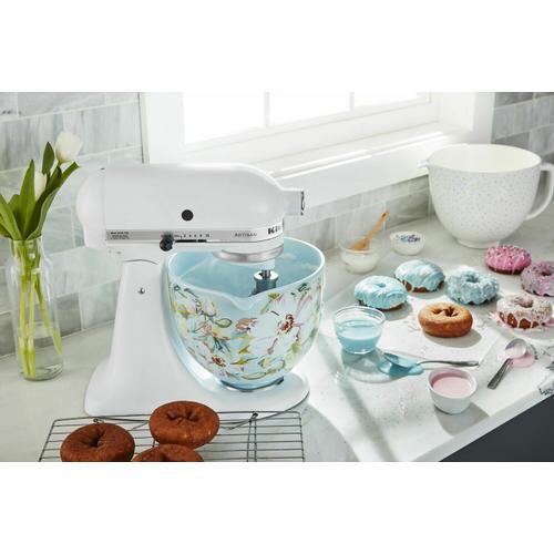 KitchenAid - 4.8 L White Gardenia Ceramic Bowl