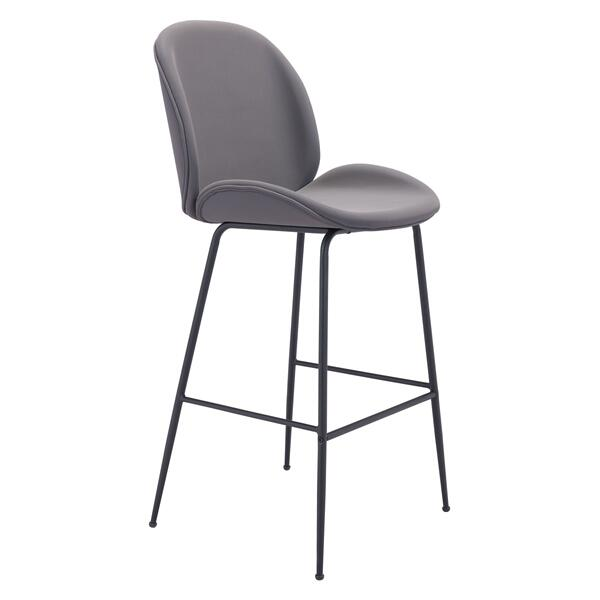 See Details - Miles Bar Chair Gray