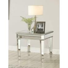 See Details - Contemporary Silver End Table
