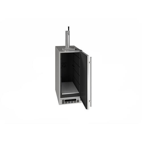 "15"" Beer Dispenser With Stainless Solid Finish (115 V/60 Hz Volts /60 Hz Hz)"