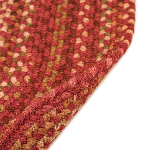 Gallery - Homecoming Rosewood Red - Vertical Stripe Rectangle - Custom
