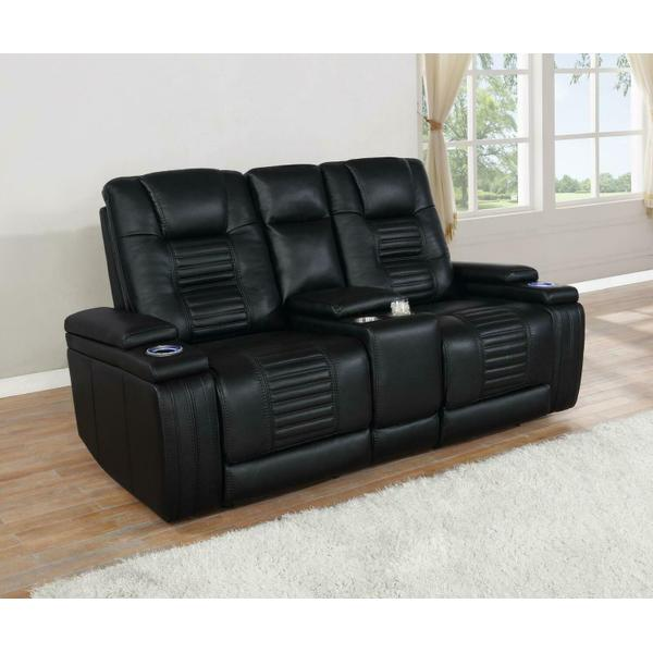 See Details - Power2 Loveseat W/ Console