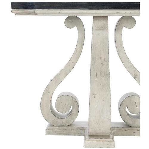 Mirabelle Console Table in Cotton (304), Ember (304)