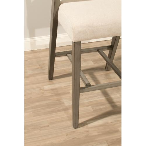 Gallery - Snyder Non-swivel Counter Height Stool - Aged Gray
