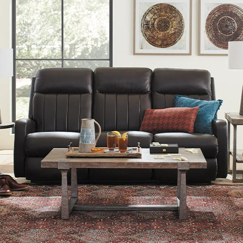 Gallery - Finley Power Wall Reclining Sofa w/ Head Rest & Lumbar