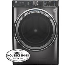 GE® 5.0 cu. ft. Capacity Smart Front Load ENERGY STAR® Steam Washer with SmartDispense™ UltraFresh Vent System with OdorBlock™ and Sanitize   Allergen