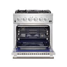 "See Details - Capriasca - Titanium Professional 30"" Freestanding Gas Range"