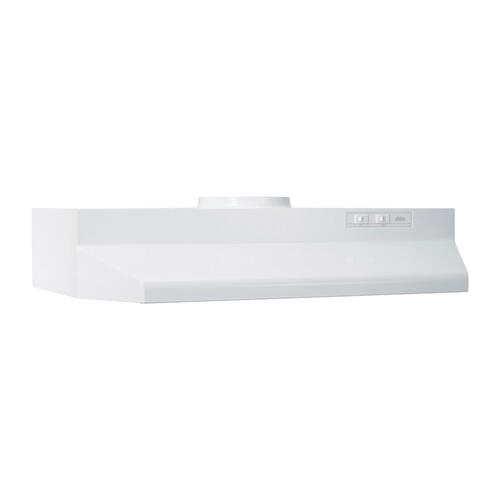 Broan® 30-Inch Under-Cabinet Range Hood, White