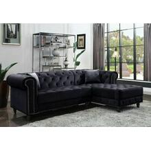 ACME Sectional Sofa w/2 Pillows - 57320