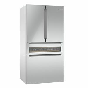 800 Series French Door Bottom Mount Refrigerator 36'' Easy clean stainless steel B36CL81ENG Product Image