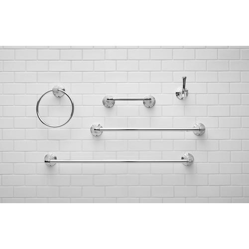 American Standard - Delancey 18-inch Towel Bar  American Standard - Polished Chrome