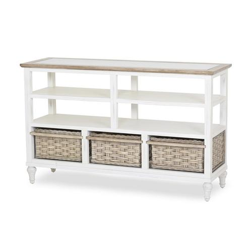 Sea Winds Trading Co - 3-Basket Entertainment Center