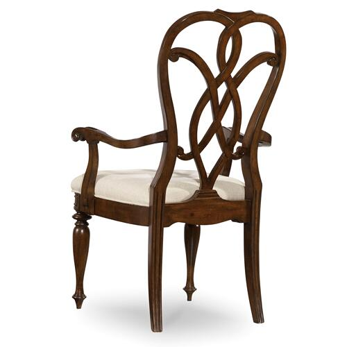 Hooker Furniture - Leesburg Splatback Arm Chair - 2 per carton/price ea