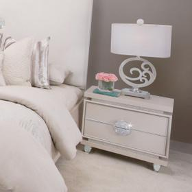 Upholstered Accent Cabinet-night Stand-end Table