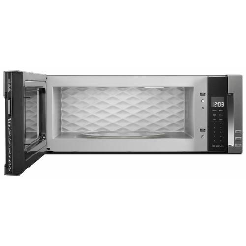 KitchenAid - 1000-Watt Low Profile Microwave Hood Combination - Stainless Steel