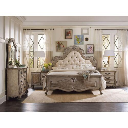 Bedroom Chatelet King Upholstered Panel Headboard