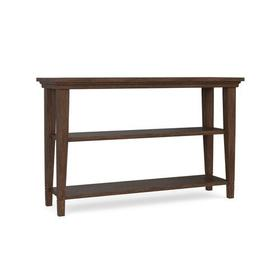Lewiston Wood Top Console Table