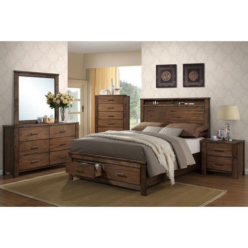 Poundex - Calif. King Bed