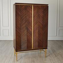 Latilla Tall Bar Cabinet