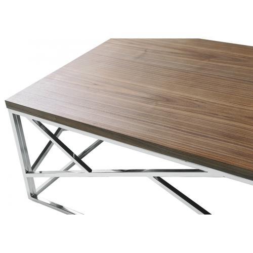 VIG Furniture - Modrest Jayton Modern Walnut Coffee Table