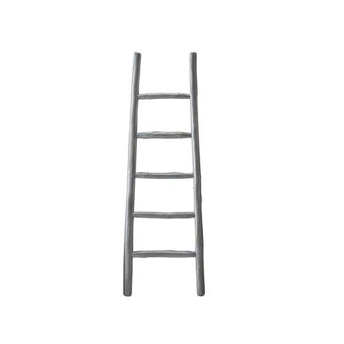 Blanket Ladder - August Gray Finish