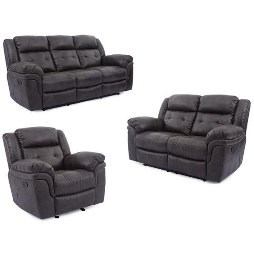 5156 Denali POWER Reclining Sofa- Grey