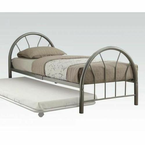 Acme Furniture Inc - ACME Silhouette Twin Bed - 30450T-SI - Silver