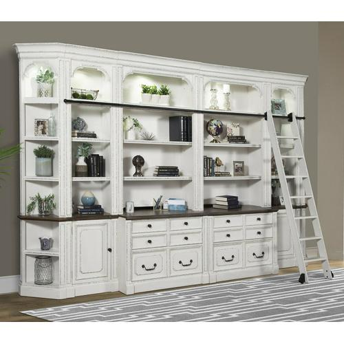 See Details - PROVENCE 9pc Library Wall