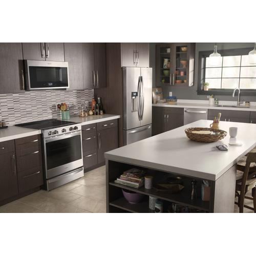 Gallery - 1.9 cu. ft. Smart Over-the-Range Microwave with Scan-to-Cook technology Fingerprint Resistant Stainless Steel