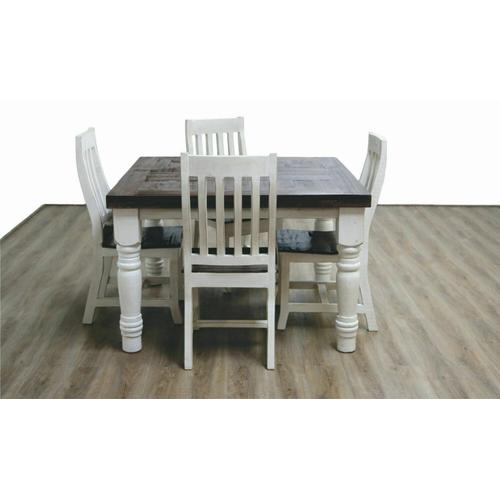 """Million Dollar Rustic - Ww/15w Cottage Dining Table 42"""" or 48"""""""