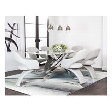 See Details - Aldo-marble /lt. Gray 7pc Set