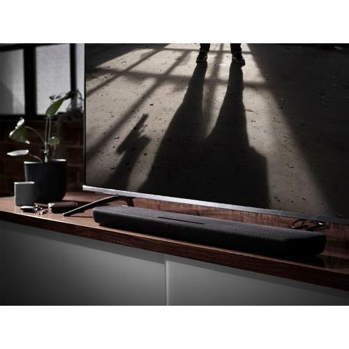 Yamaha - YAS-109 Black Sound Bar with Built-in Subwoofers and Alexa Built-in
