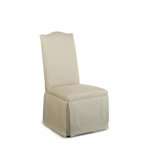 Hollister Strght Back/camelback Top Chair