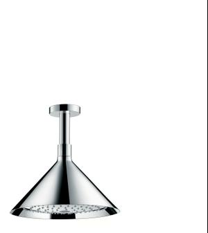 Chrome Overhead shower 240 2jet with ceiling connector Product Image