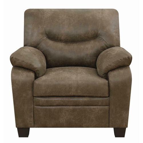 Meagan Casual Brown Chair