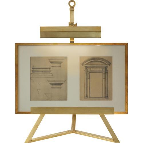 Product Image - Alexa Hampton Estelle 22 inch 40.00 watt Natural Brass Task Table Lamp Portable Light