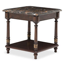 Aristocrat End Table Cordovan