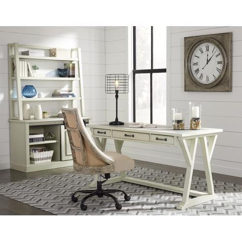 "Jonileene 60"" Home Office Desk With Hutch"