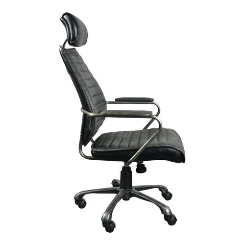 Moe's Home Collection - Executive Swivel Office Chair Black